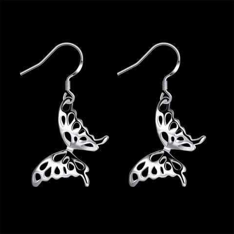 Earrings: Dangle Butterfly Earrings