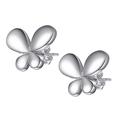Earrings: Butterfly Studs