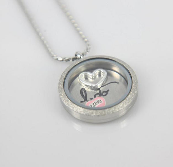 "Floating Charm: Bridal Collection - Background Plate: ""I do"""