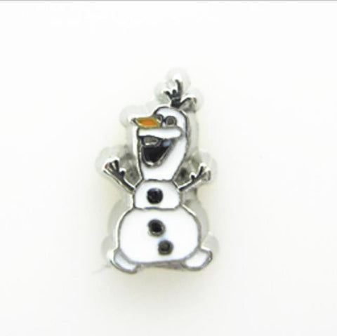 "Floating Charm: Kids Collection - ""Olaf"" Snowman Frozen"
