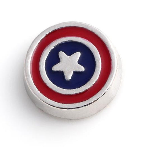 Floating Charm: Kids Collection - Captain America