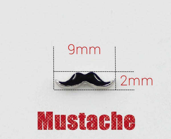 Floating Charm: Inspirational Collection - Moustache
