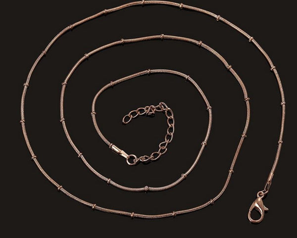 Floating Charm Jewellery: Chain - Snake Chain - 60 cm