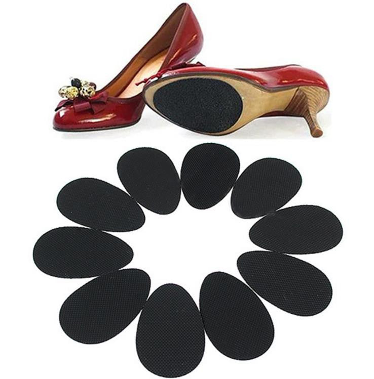 Shoes: Anti-Slip Heel Sole Grip Pads - Self Adhesive