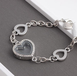 Floating Charm Jewellery: Bracelet - Heart