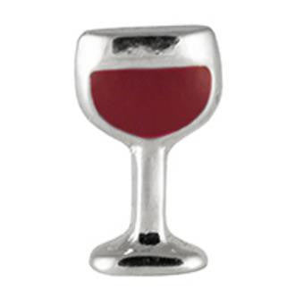Floating Charm: Food & Beverage Collection - Red Wine - Wine Glass Charm