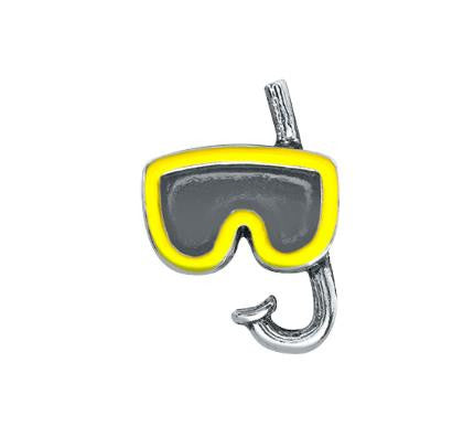 "Floating Charm: Sports Collection -  ""Snorkling Adventure"" Fun Charm"