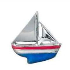 Floating Charm: Sports Collection - Sailboat Charm