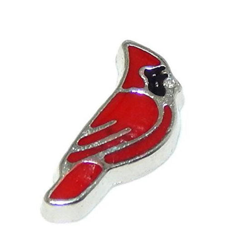 Floating Charm: Cardinal Red Bird Charm (NATURE AWARENESS COLLECTION)