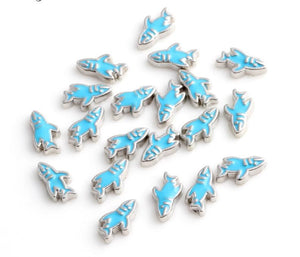 Floating Charm: Animal Collection - Shark Charm