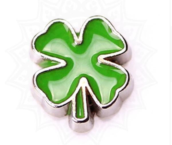 Floating Charm: Inspirational Collection - 4-Leaf-Clover Charm