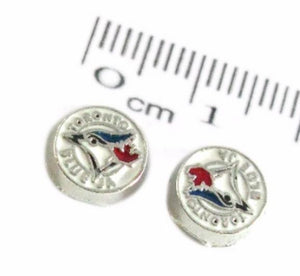 Floating Charm: Sports Collection - Toronto Blue Jays Baseball Charm