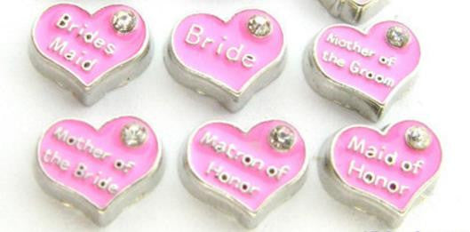 "Floating Charm: Bridal Collection - ""Wedding Charms"""