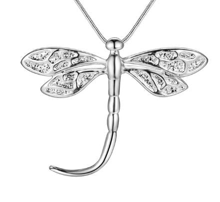 Necklace: Dragonfly Pendant Necklace
