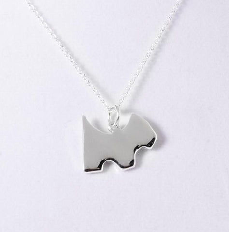 "Necklace: ""Toto"" Puppy Dog Pendant Necklace"