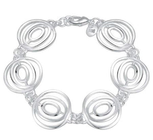 Bracelet: Abstract Circle Geometric Bracelet