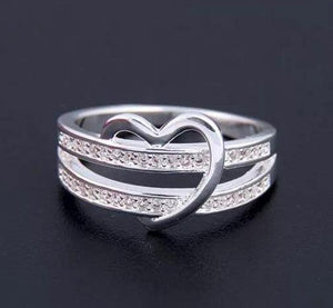 "Ring: ""Shot through the heart"" ring"
