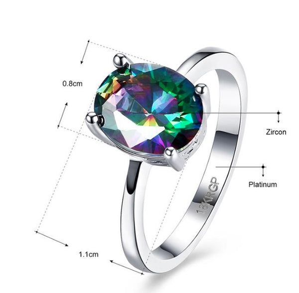 Ring: Absolutely Stunning - Majestic Ring - Sizes 6, 7, 8