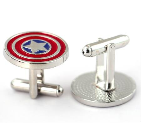 Cufflinks: Super Hero Cufflinks - Captain America