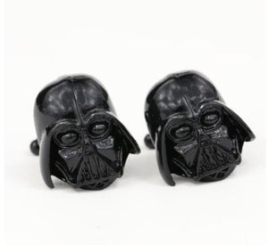 Cufflinks: Star Wars Cufflinks - 3D Darth Vadar