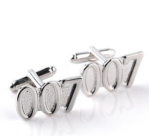 Cufflinks: 007 JAMES BOND Cufflinks