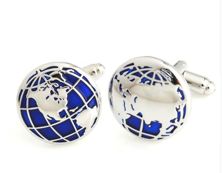 Cufflinks: Globe / World Cufflinks