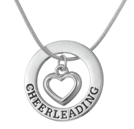 Necklace: Cheerleading Pendant Necklace