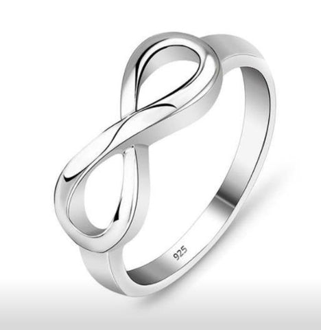 925 Sterling Silver - Infinity Ring