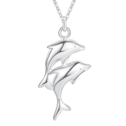 Necklace: Dolphin Pendant Necklace