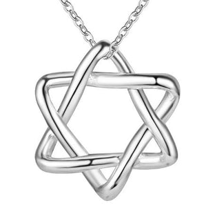 Necklace: Star of David Pendant Necklace