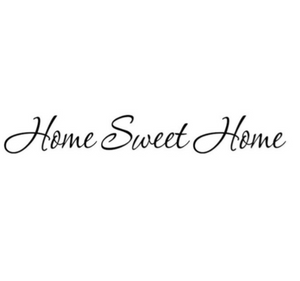 "Wall Decal: ""Home Sweet Home"" Wall or Window Decal"