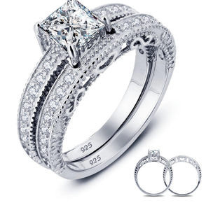 925 Sterling Silver Ring Set - Classically Sophisticated