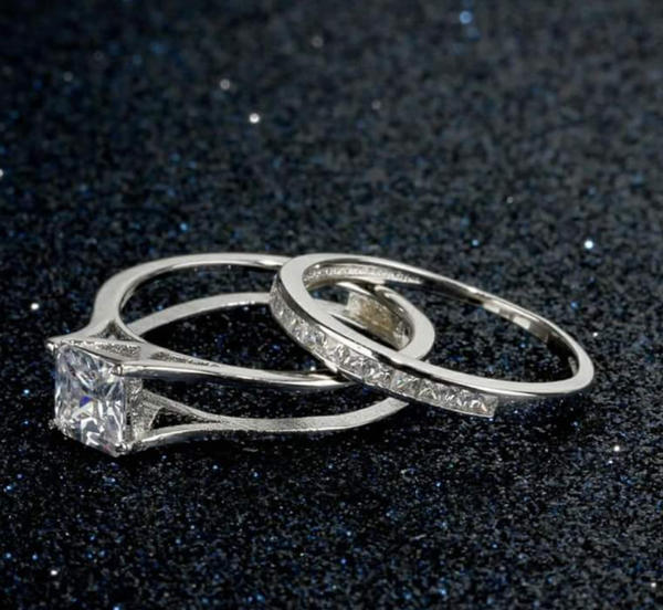 925 Sterling silver: Ring Set