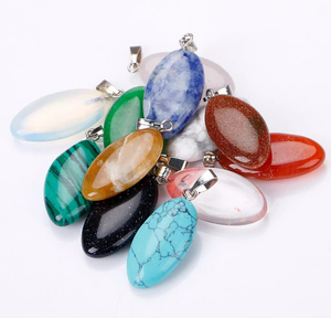 Necklace: Gemstone Pendant Necklaces (Chain included)