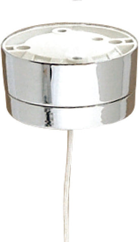 BG 802ST PULLCORD CEILING SWITCH 2WAY 6A BRUSHED CHROME EFFECT