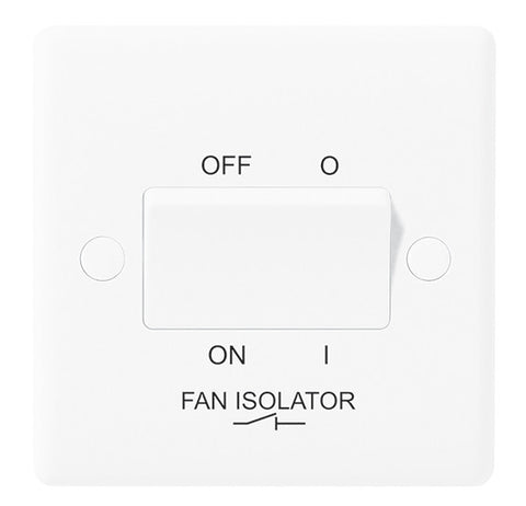 BG 815 FAN ISOLATED SWITCH TP 10AX