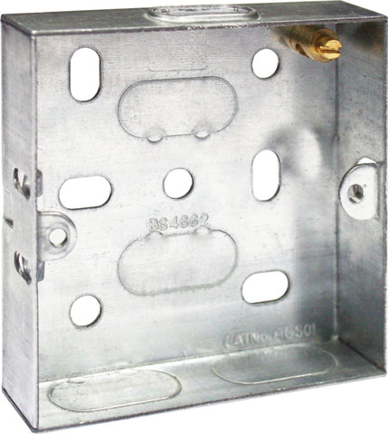 BG HGS03 1GANG 35MM SOCKET BOX