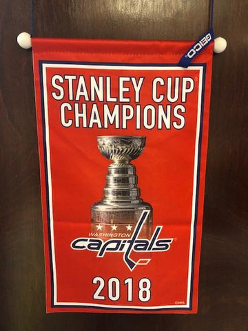 Washington Capitals Stanley Cup Champions Banner