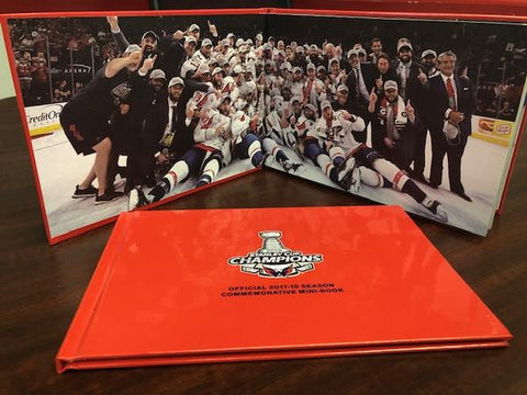 Washington Capitals Stanley Cup Champions Book