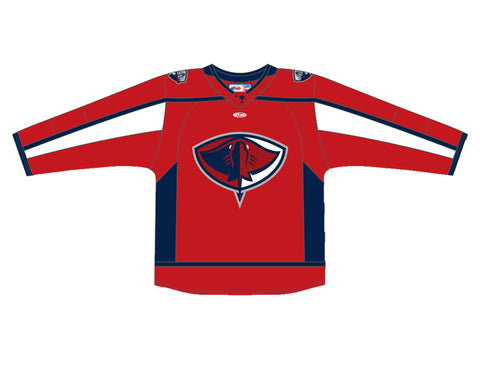 Adult Red Athletic Knit Replica Jersey 2020  | South Carolina Stingrays