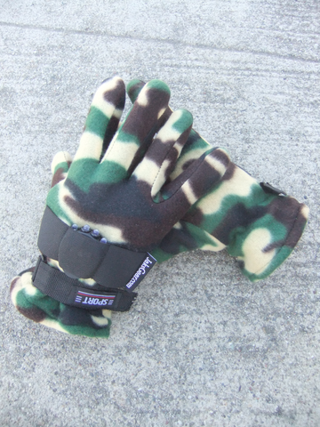Camo Fleece Work Toggers