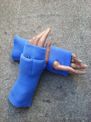 Baby Blue Fingerless Toggers