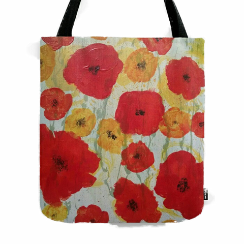 """Poppy Rain"" Tote Bag"