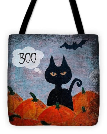 Boo Halloween Treat Bag