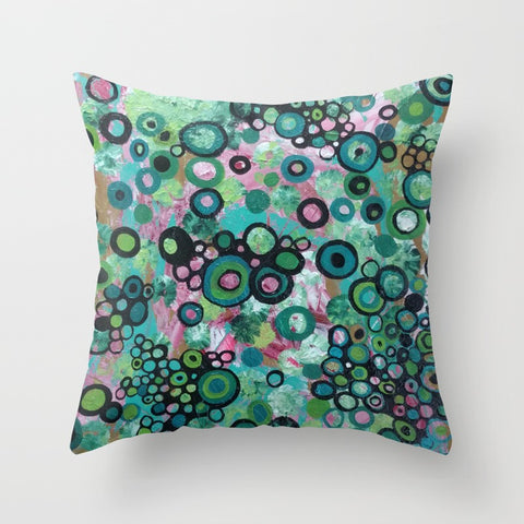 """Effervescence"" Pillow Square"