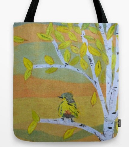 """Little Bird"" Tote Bag"