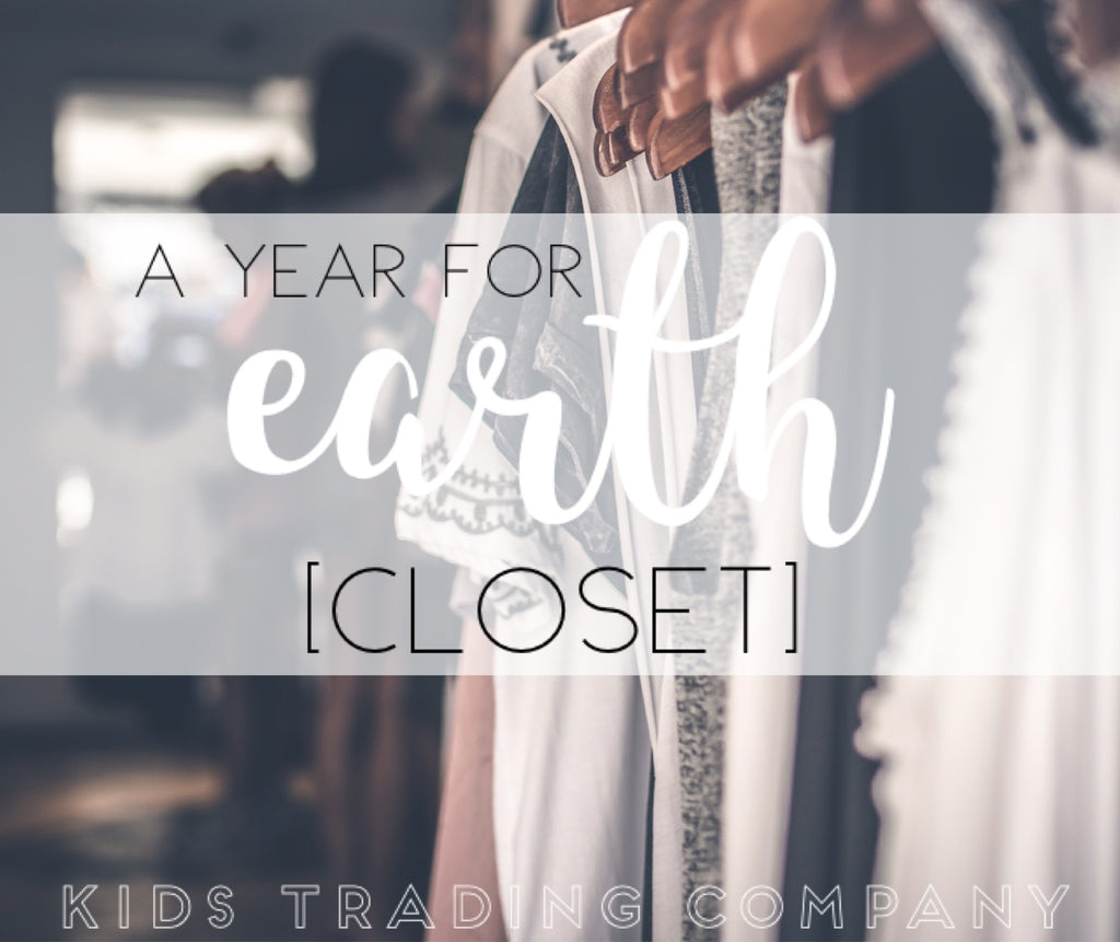 A Year for Earth - Our Closet