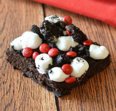 Canada Day Brownies