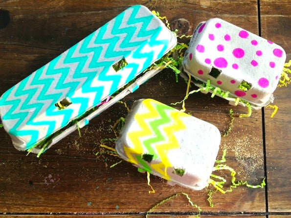 Egg Carton Gift Boxes