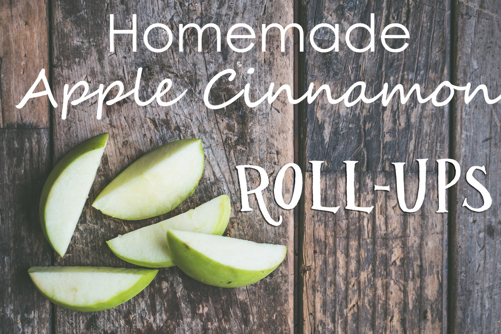 Homemade Apple Cinnamon Roll-Ups